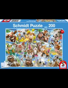 Schmidt Dierenselfies 200 stukjes