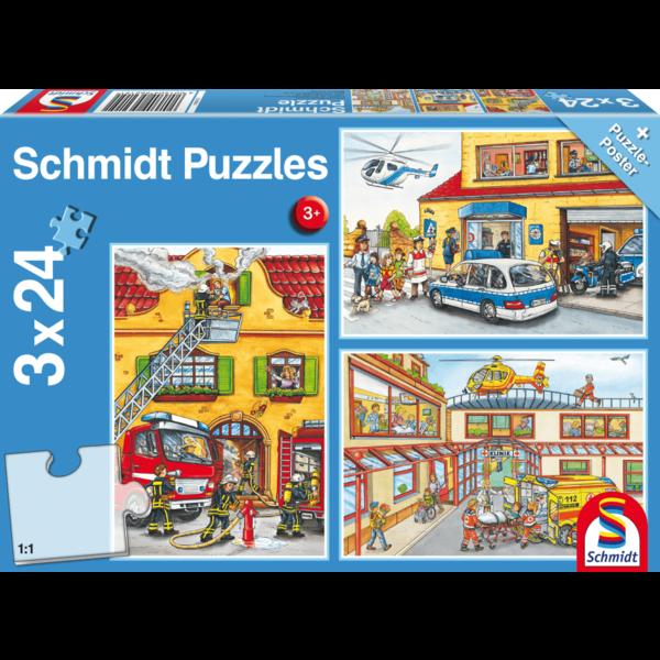 Schmidt Hulpdiensten 3x24 stukjes