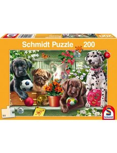 Schmidt Speelse puppies, 200 stukjes