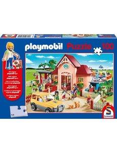 Playmobil dierenkliniek 100 stukjes