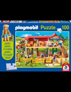 Playmobil boerderij 100 stukjes