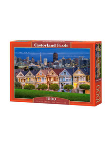 Castorland Painted Ladies San Fransisco