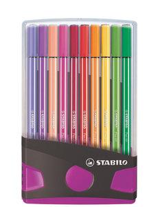 Stabilo 20 Pen 68 colorparade Antr/Roze