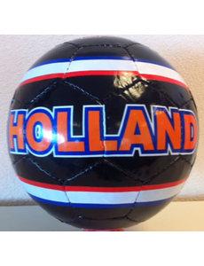 Hollandbal zwart - kunstleder (niet opgepompt)