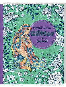 Glitterkleurboek Mythical creatures