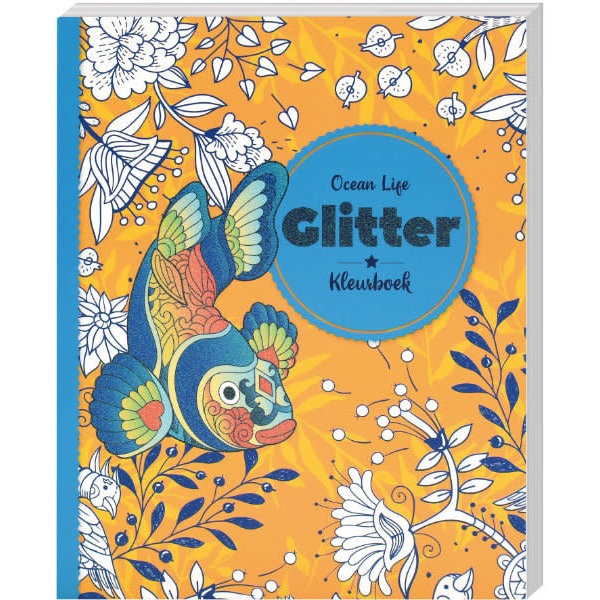 Glitterkleurboek Ocean Life