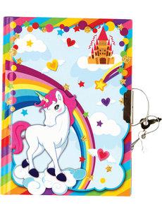 Dagboek Unicorn met slot