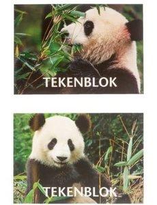 Tekenboek Panda A5 Formaat