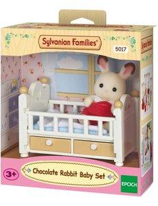 Sylvanian Families 5017 - Meubelset Baby Chocoladekonijn