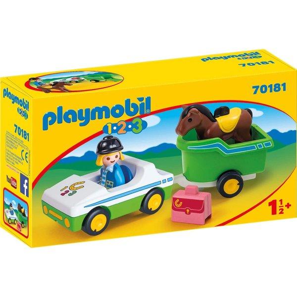 Playmobil 70181 - Auto met paardentrailer