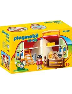 Playmobil 70180 - Meeneem manege