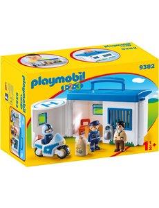 Playmobil 9382 - Meeneem politiestation
