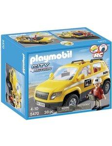 Playmobil 5470 - Werfleider met auto