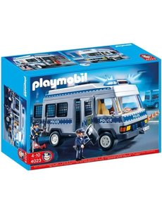 Playmobil 4023 - Politie transportwagen met licht en geluid