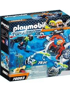 Playmobil 70003 - Spy team bemande onderwaterrobot