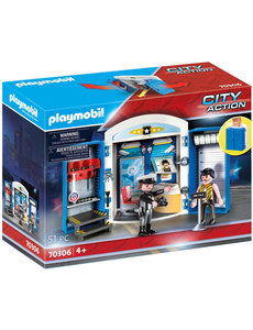 Playmobil 70306 - Speelbox Politiestation