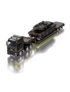 Siku 8612 - Militair transport met tank