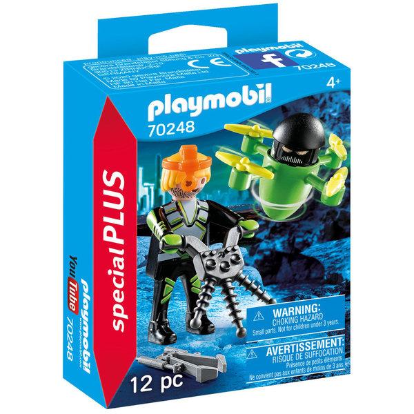 Playmobil 70248 - Agent met drone