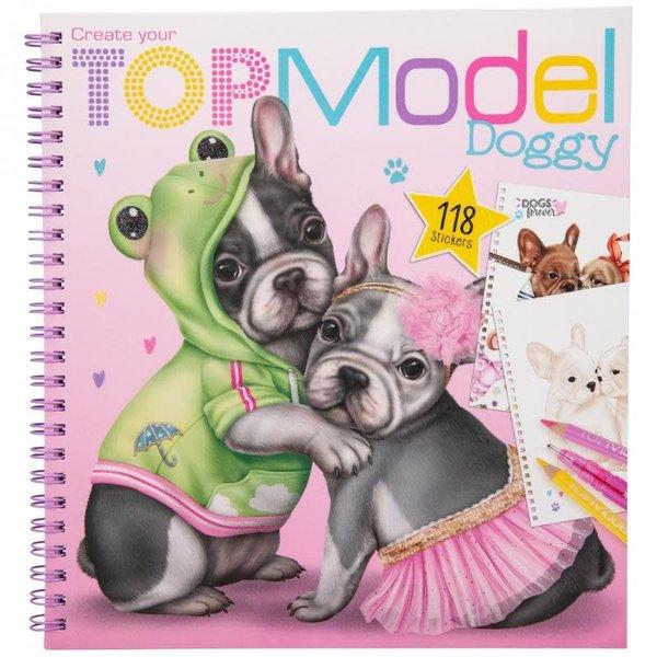 Depesche TopModel Create your Doggy kleurboek
