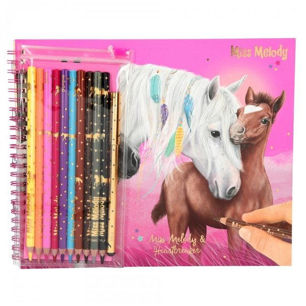 Depesche Miss Melody Kleurboek met potloden
