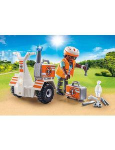 Playmobil 70052 - Eerste hulp balans racer