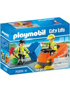 Playmobil 70203 - Straatveger