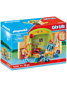 Playmobil 70308 - Speelbox kinderdagverblijf