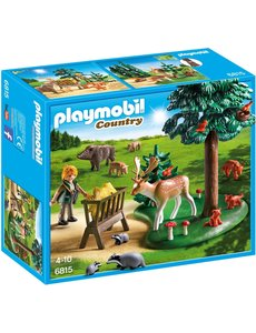 Playmobil 6815 - Voederplaats voor bosdieren
