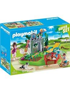 Playmobil 70010 - Familietuin superset