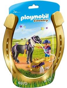 Playmobil 6970 - pony om te versieren ster