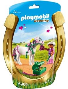 Playmobil 6969 - Pony om te versieren bloem