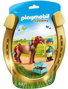 Playmobil 6971 - Pony om te versieren vlinder
