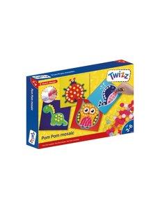 Twizz Pom Pom mozaiek