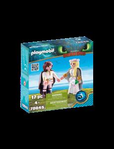 Playmobil 70045 - Bruidspaar Hikkie en Astrid