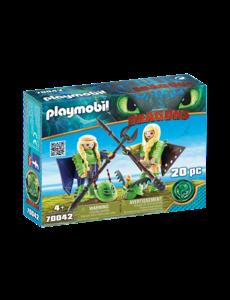 Playmobil 70042 - Schorrie en Morrie in vliegpak