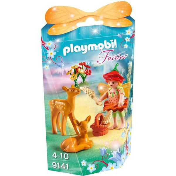 Playmobil 9141 - Elfje met hertenkalfjes