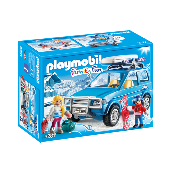Playmobil 9281 - 4x4 met dakkoffer