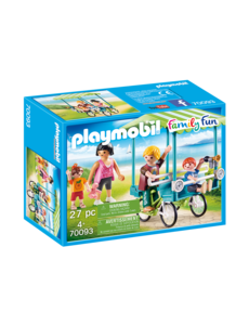 Playmobil 70093 - Familiefiets