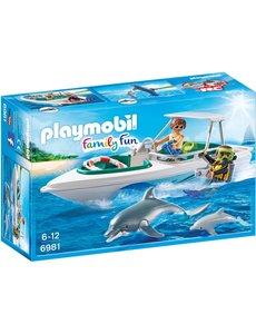 Playmobil 6981 - Duiktrip met plezierboot