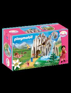 Playmobil 70254 - Heidi met Klara en Peter bij het meer