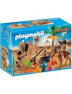 Playmobil 5387 - Grafrovers met Egyptische schatten