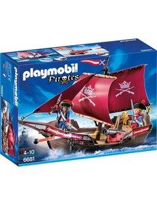 Playmobil 6681 - Soldatenzeilschip met kanonnen