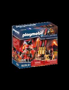 Playmobil 70228 - Vuurmeester met vuurwerkkanon