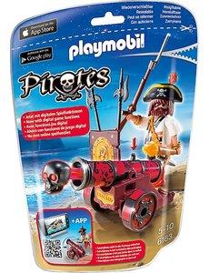 Playmobil 6163 - Zeerover met rood kanon