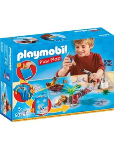 Playmobil 9328 - Piraten met plattegrond