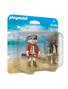 Playmobil 9446 - Piraat en soldaat