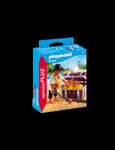 Playmobil 9358 - Piraat met schatkist