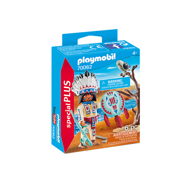 Playmobil 70062 - Inheems Stamhoofd