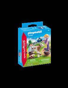 Playmobil 70155 - Kinderen met kalf