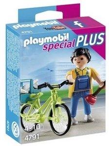 Playmobil 4791 - Klusjesman met fiets
